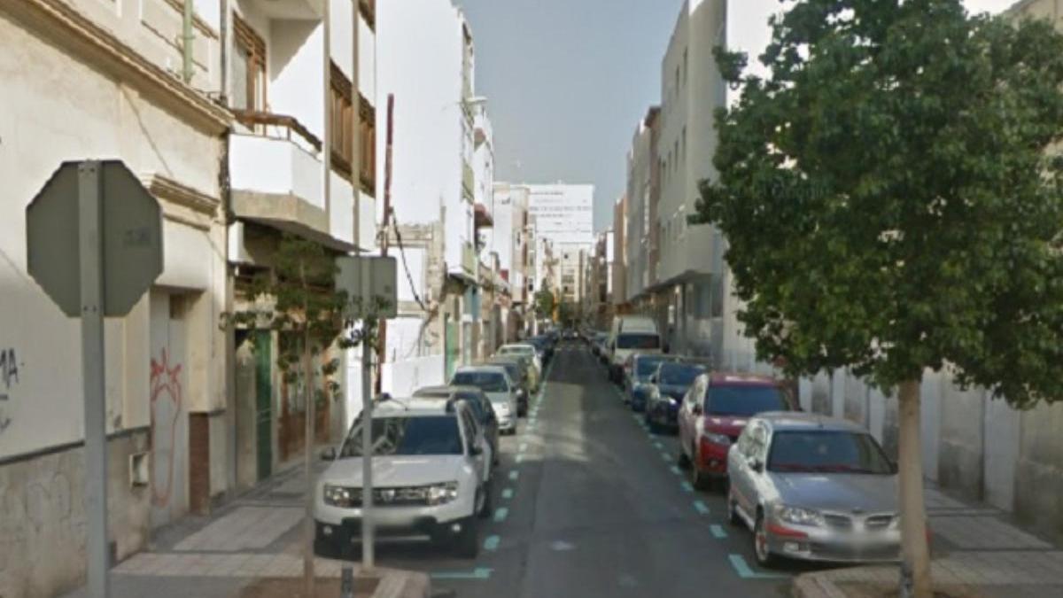Calle Matías Padrón, lugar de los hechos.
