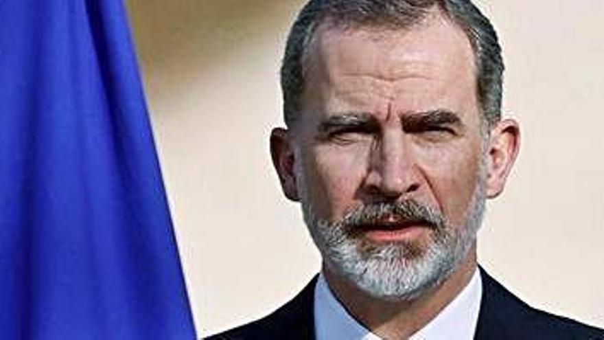 El Rei reclama unitat davant del terrorisme «vingui d'on vingui»