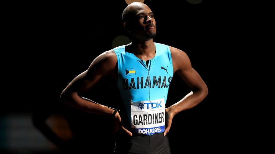 El bahameño Steven Gardiner, nuevo rey de los 400 metros