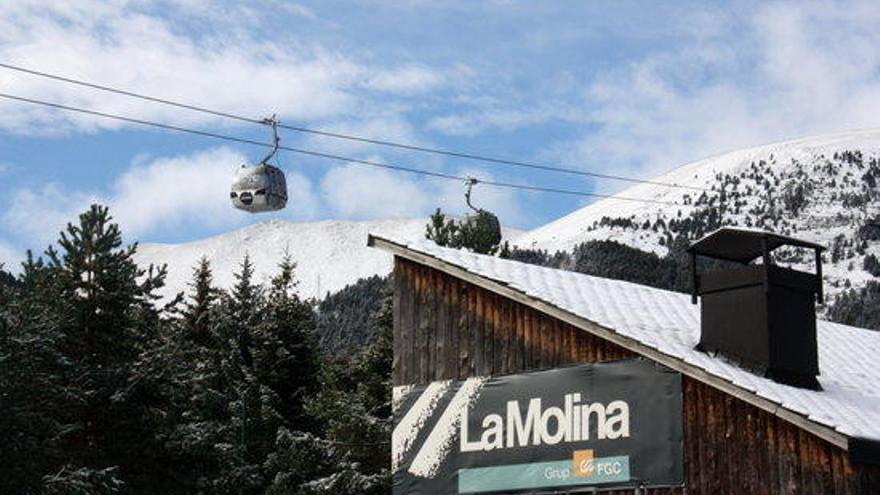 Resignació a les pistes d'esquí que gestiona FGC al no poder comptar amb la Puríssima