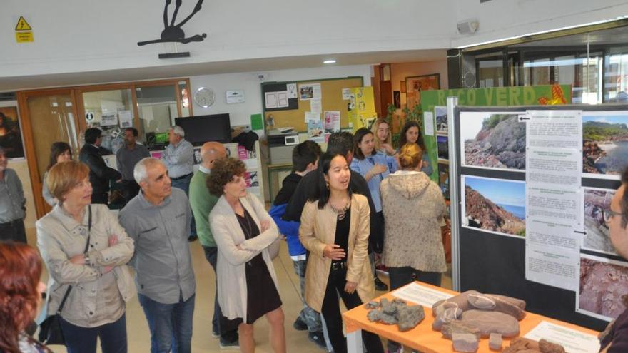Alumnos del instituto de Sineu organizan una exposición sobre paisajes geológicos de Mallorca