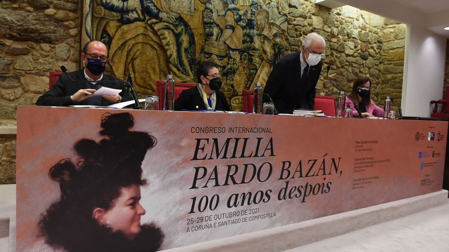 Arranca el congreso internacional 'Emilia Pardo Bazán, cien años después'
