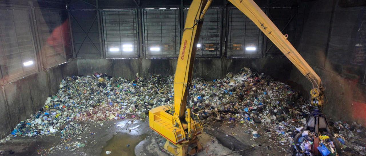 Planta de tratamiento re residuos de Algímia d'Alfara