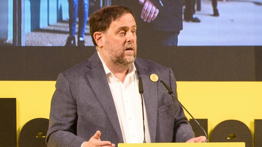 """Junqueras no quiere declaraciones de independencia que solo duren """"instantes"""""""