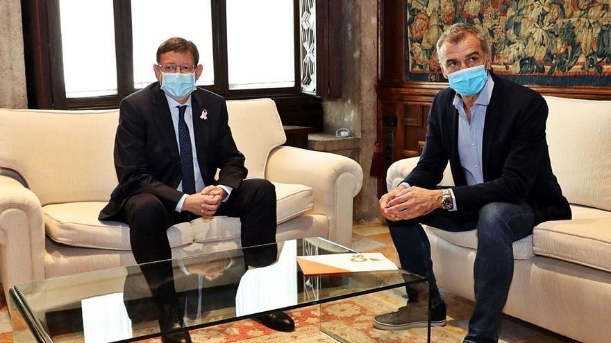Puig y Cantó intensifican su acercamiento y pactan trabajar juntos ante los presupuestos