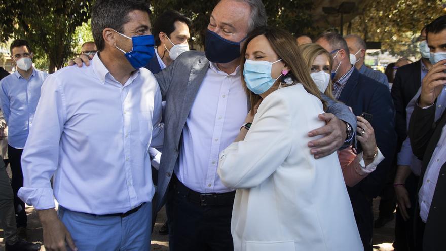 Mazón exhibe fuerza en el PP para asaltar  la Generalitat