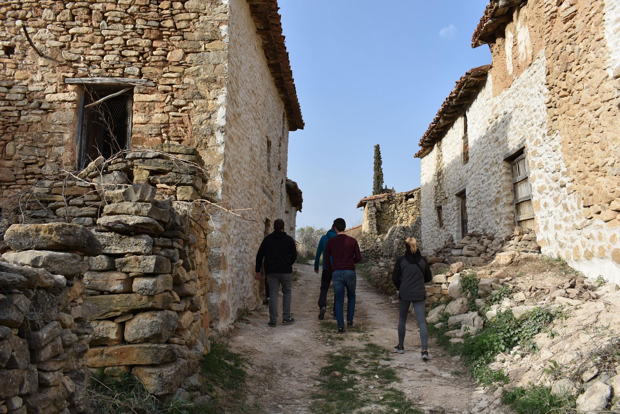 Les Alberedes, un poblado abandonado de Els Ports en el que se proyectan alojamientos rurales.