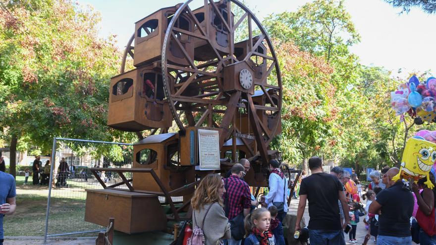 El Ayuntamiento de Zaragoza instalará atracciones infantiles en el centro y el Parque Grande para los Pilares