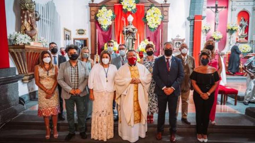 La última misa del cura de San Ginés después de 14 años en Arrecife