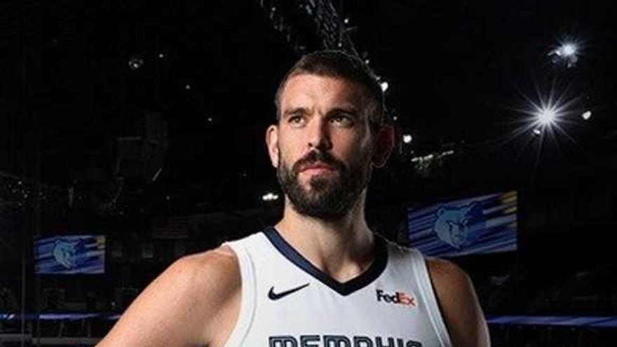 Memphis Grizzlies retirará la camiseta de Marc Gasol
