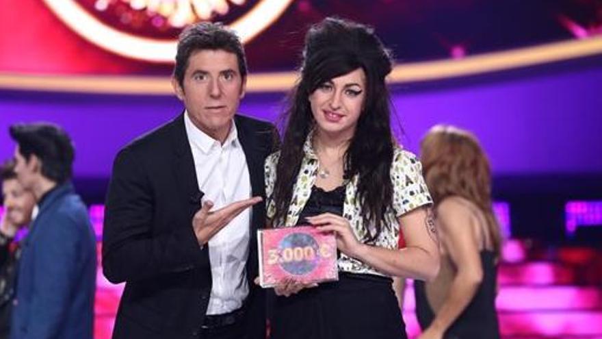 Mimi gana la Gala 11 de 'Tu cara me suena' con su imitación de Amy Winehouse