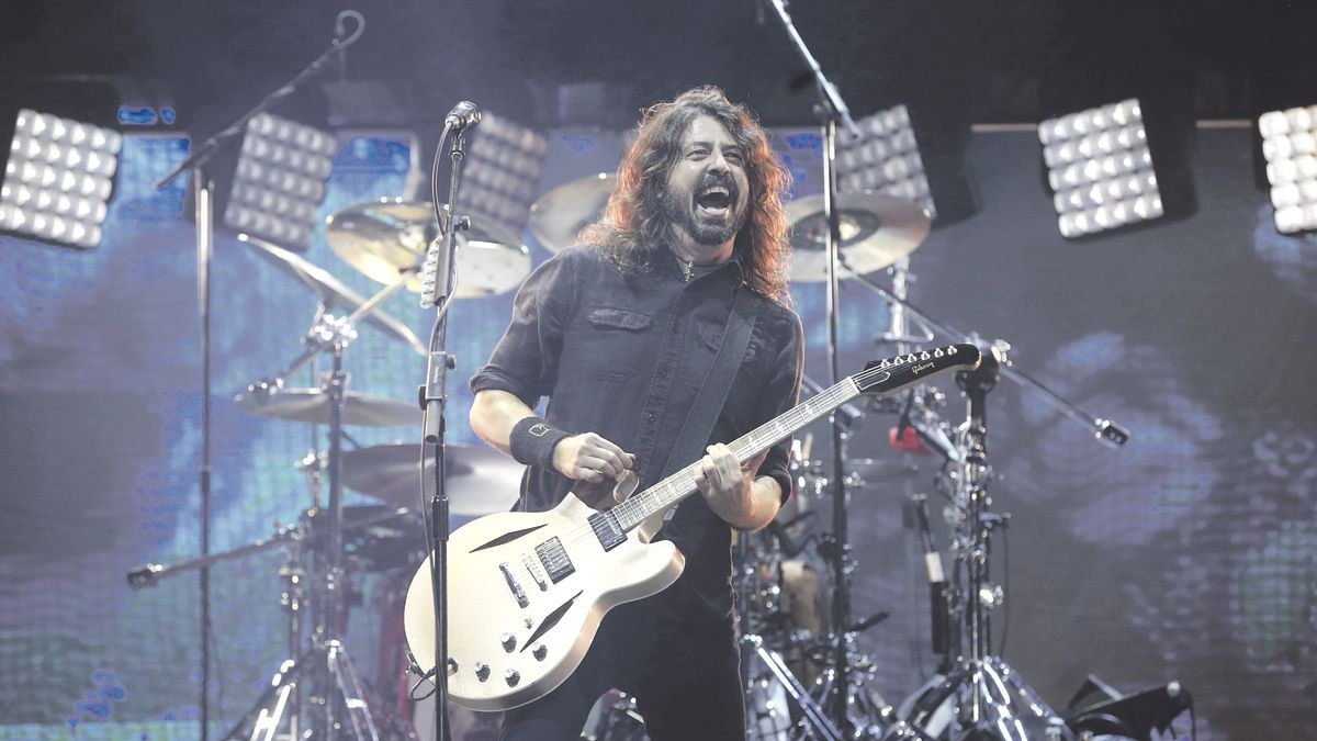 Dave Grohl de Foo Fighters.