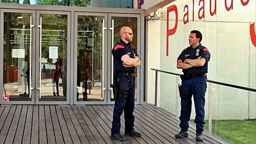 Un sindicat dels Mossos demana revisar la vigilància a les seus judicials