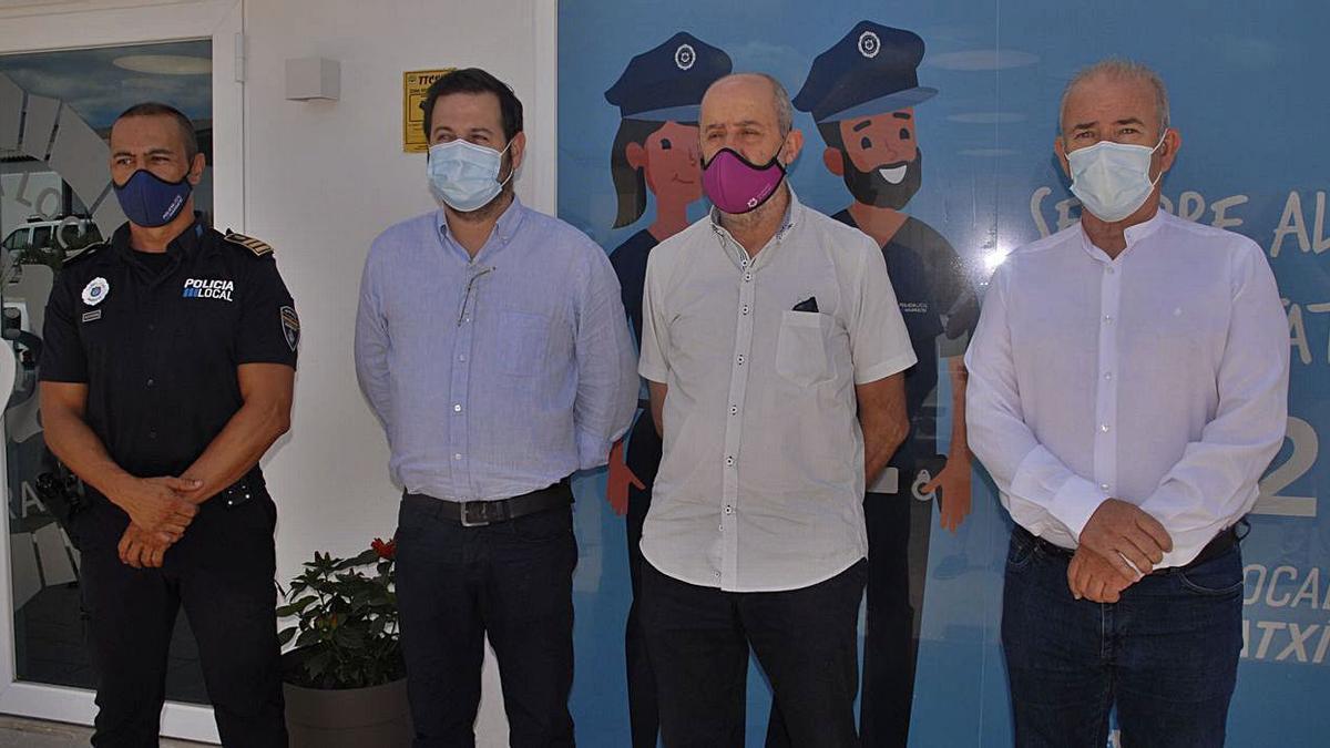 Presentación del cuartel de la Policía Local de Marratxí reformado.