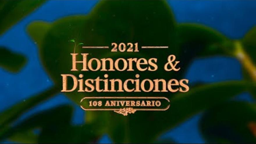 Entrega de Honores y Distinciones del Cabildo de Gran Canaria