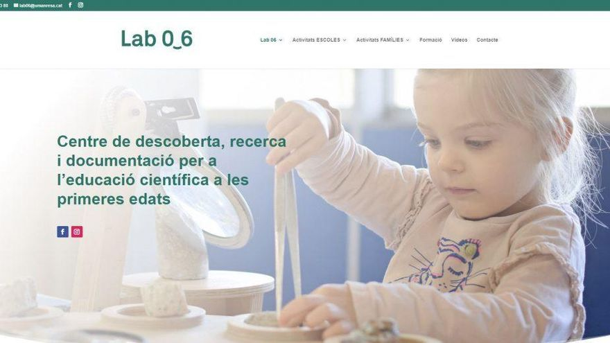 El Lab 0-6 estrena pàgina web