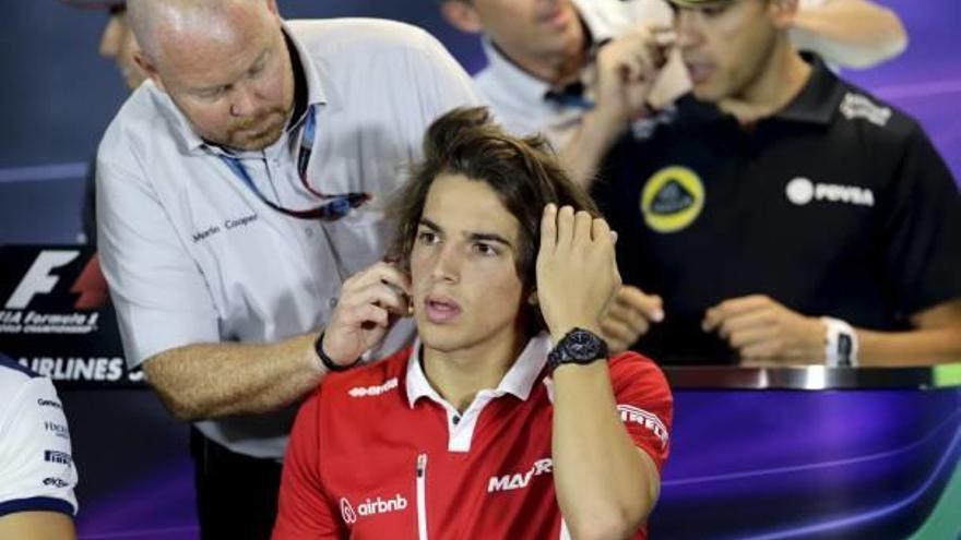 Merhi prepara su regreso a la Fórmula 1