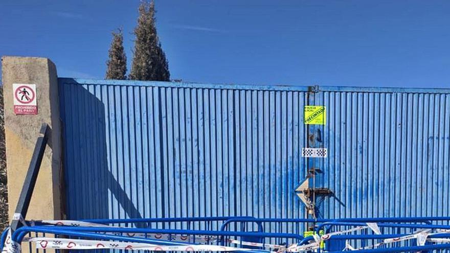 El Ayuntamiento vuelve a cerrar una planta de residuos en Fontcalent por operar sin licencia