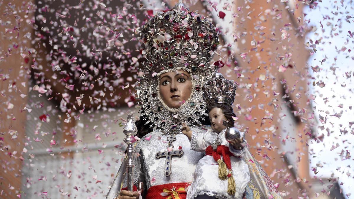 La Virgen de la Fuensanta.