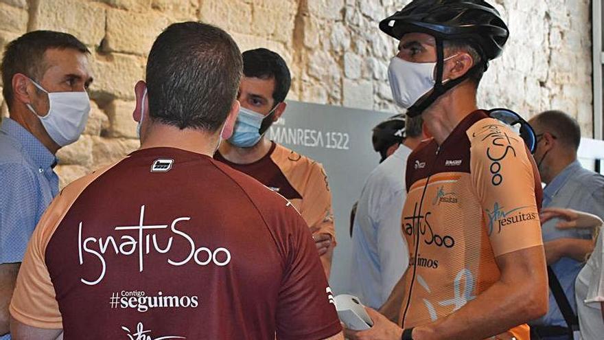 Dos ciclistes fan 681 km de pelegrinatge en 7 dies