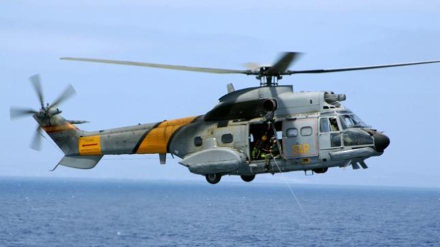 Ordenan reabrir la causa del accidente de un helicóptero militar en Canarias ocurrido en 2014