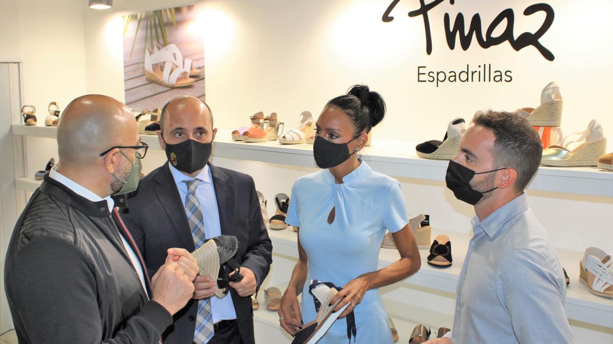 Feria de calzado en Milán