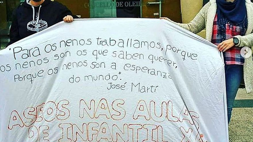 La Xunta ejecuta los aseos que pedía el Valle Inclán para aulas de Infantil