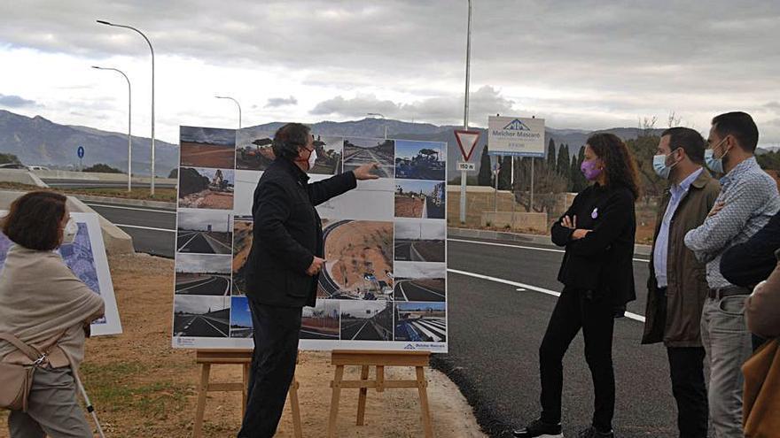 Abren al tráfico el enlace desde la autopista al polígono de Marratxí