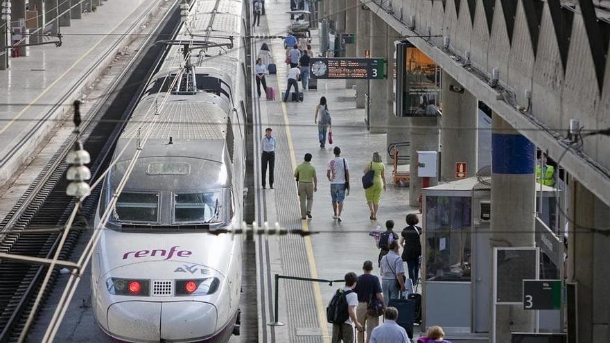 Renfe cancela todos los trenes que unen Madrid con Córdoba debido al temporal Filomena