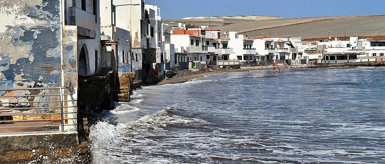 Vista general del enclave costero de Ojos de Garza, en Telde. | | YAIZA SOCORRO