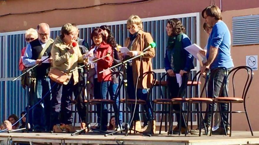 Homenaje a Xisco Gràcia en Llucmajor