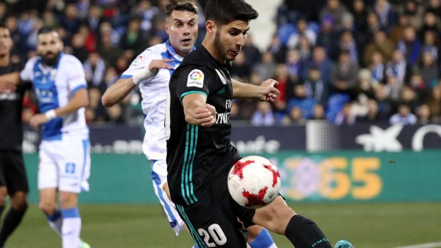 Asensio dóna un lleuger avantatge al Madrid per al partit de tornada