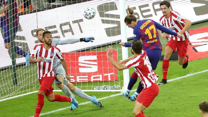 Un quart d'hora desastrós deixa el Barça fora de la Supercopa (2-3)