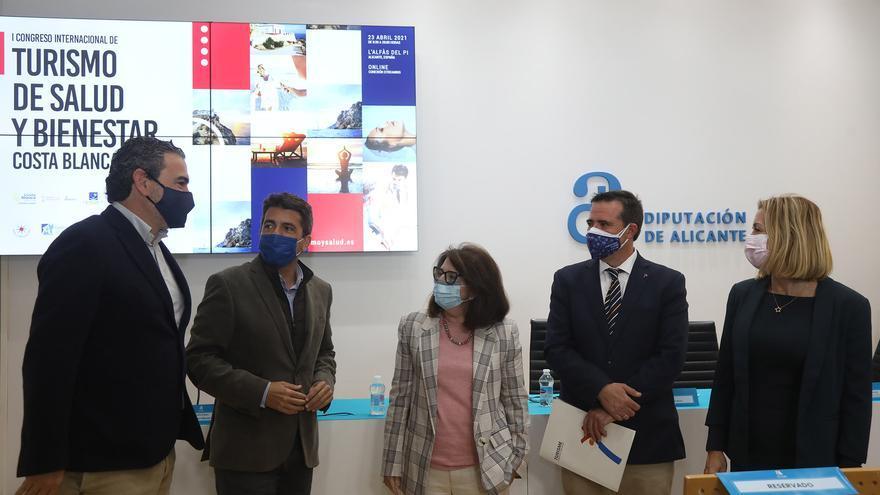 """Mazón: """"El turismo de salud es una nueva oportunidad para la recuperación del sector turístico"""""""