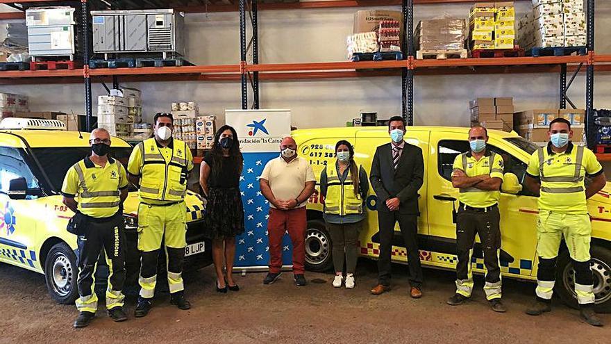 CaixaBank y la Fundación la Caixa donan 6.000 euros para la adquisición de alimentos a Emerlan