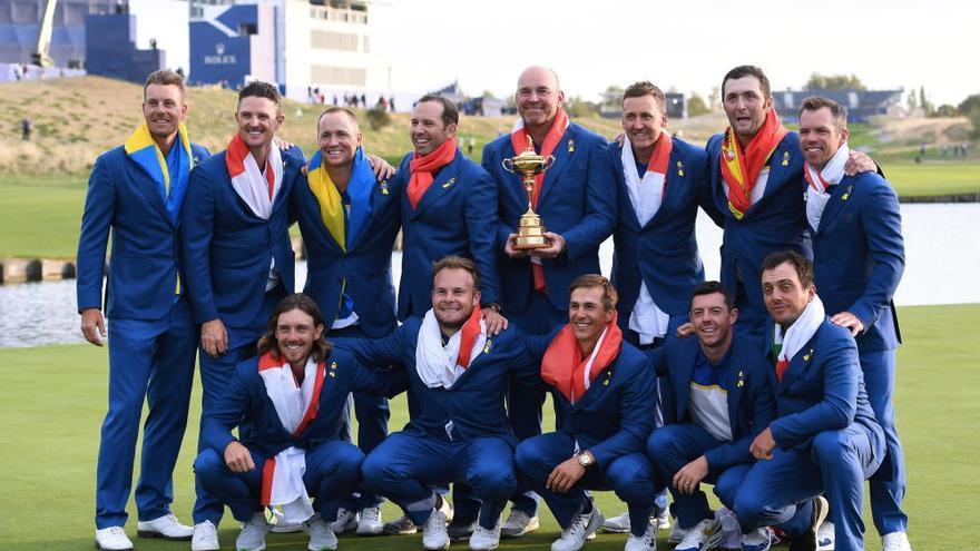 Europa reconquista la Ryder Cup ante los Estados Unidos