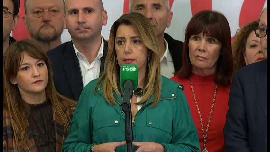 Díaz llama a frenar a Vox