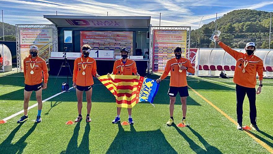 La Comunitat se proclama campeona de España de trail