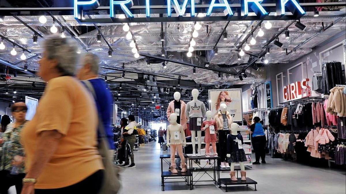 Imatge d'arxiu d'una botiga de Primark.