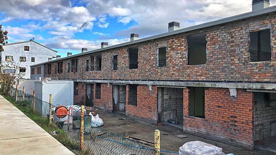 Las viviendas de los maestros de Cerdedo estarán listas en verano