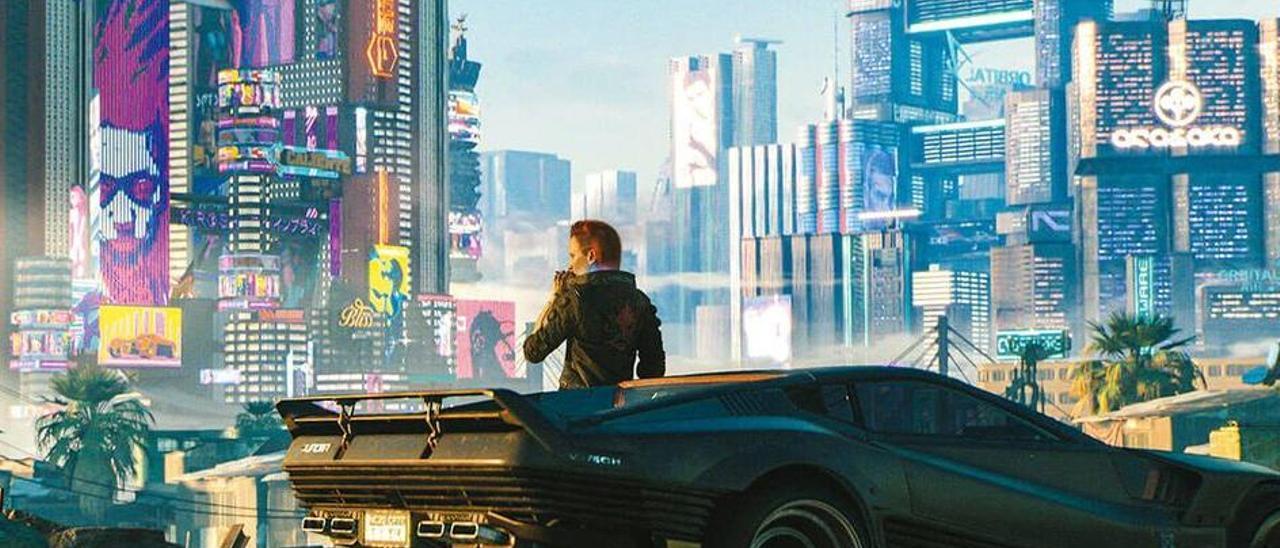 El futuro es ahora: así es 'Cyberpunk 2077', el juego más esperado.
