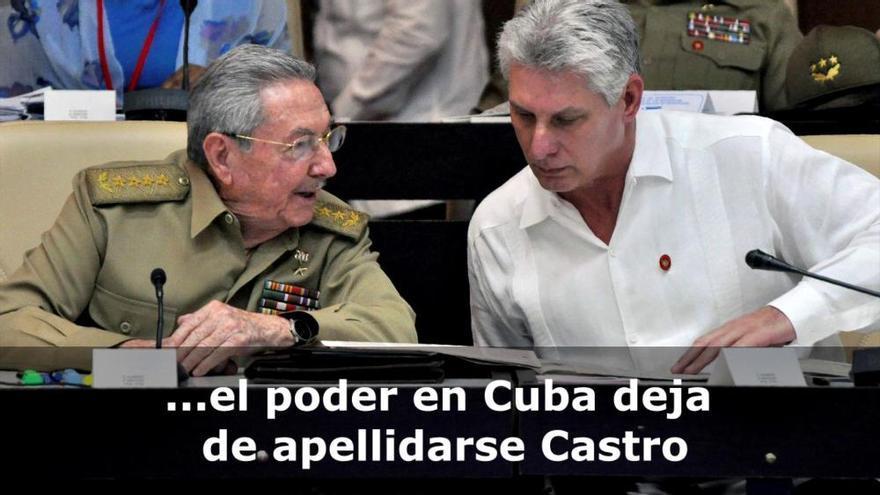 """Díaz-Canel, nuevo presidente de Cuba: """"Seremos fieles al legado de Fidel Castro"""""""