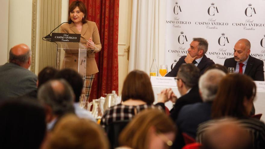 Isabel Bonig gira el  foco de su campaña hacia la clase media
