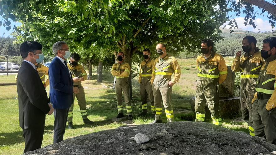 Rosinos tendrá una nueva unidad para reforzar la extinción de incendios