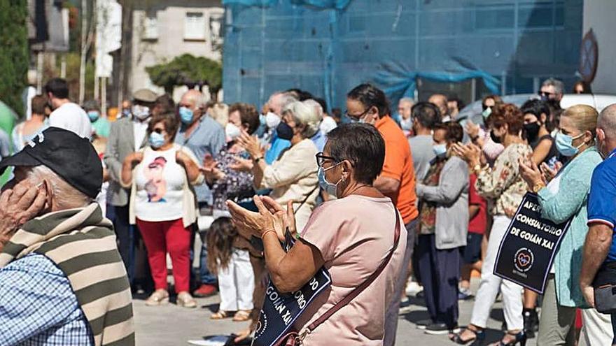 Vecinos de Tomiño salen a la calle para exigir la apertura del consultorio de Goián