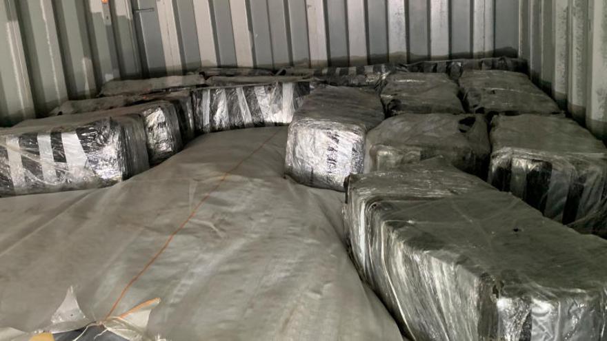 Intervenen 500 quilos de cocaïna al port de Barcelona amb un valor superior als 50 milions