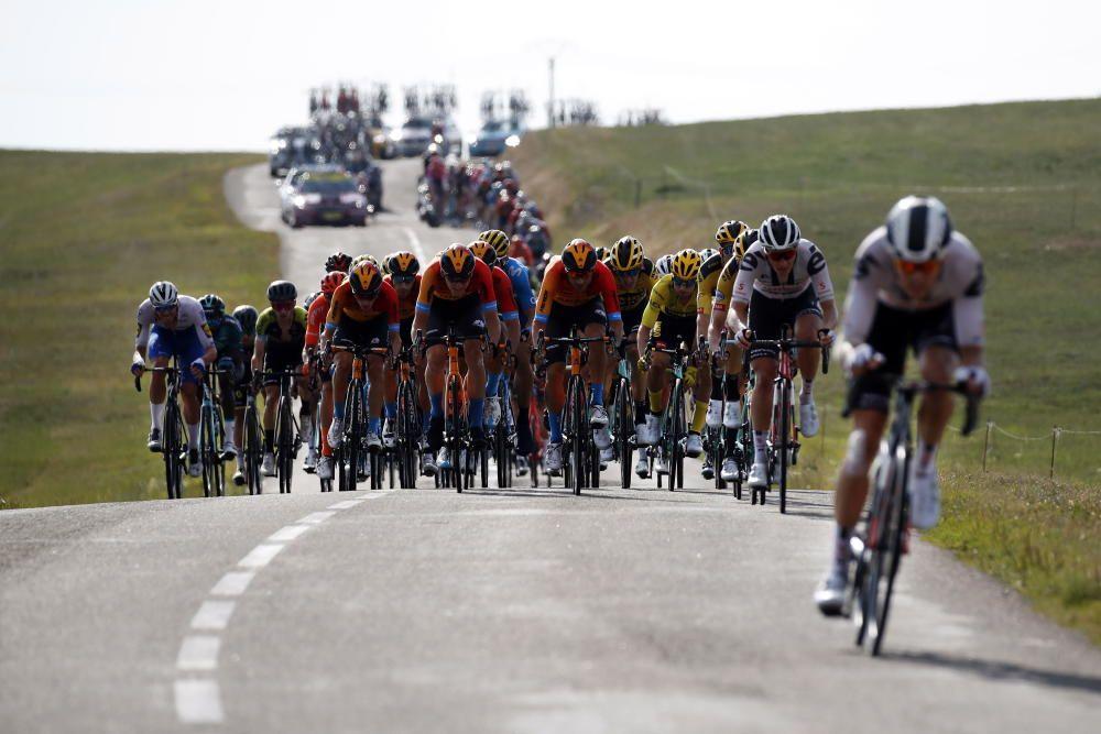 Las imágenes de la 19ª etapa del Tour de Francia.