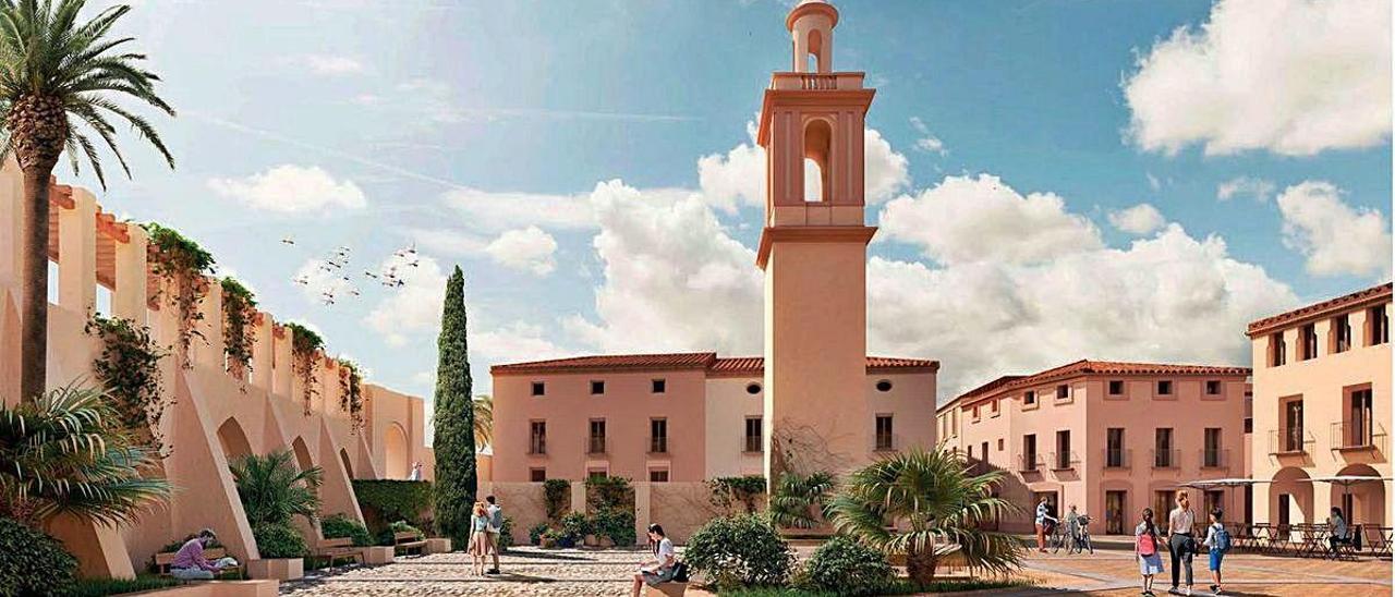 La Vila de Alzira renace a la sombra de Santa María