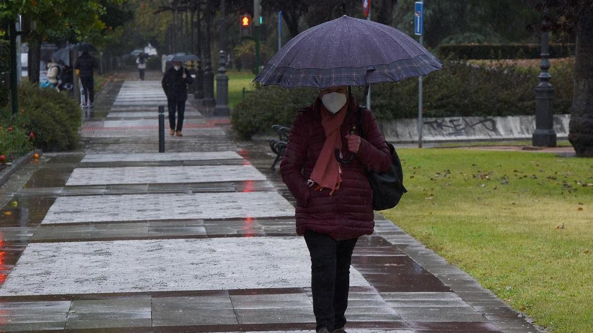 Caída de las temperaturas y chubascos ocasionales para los próximos días.