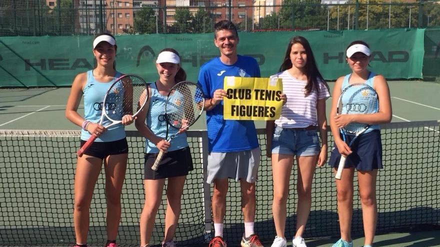 Les cadets del CT Figueres, campiones catalanes